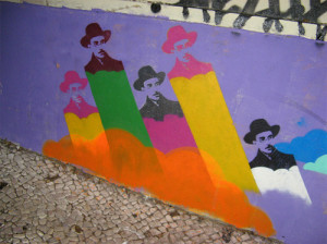 Murale a Lisbona